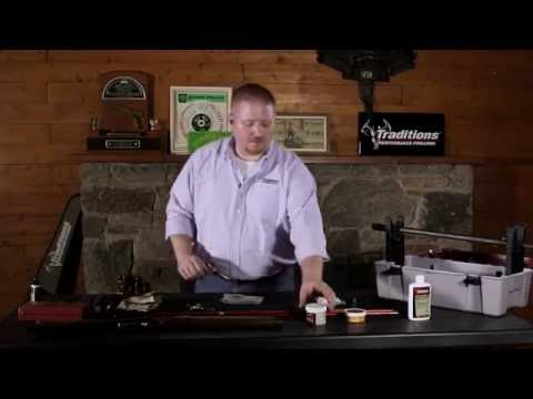 Traditions Firearms Video Series - How to Clean Your Traditions Percussion Sidlelock