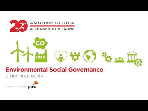 Environmental Social Governance – an emerging reality