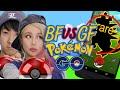BF VS GF Pokemon GO Challenge! Catching RARE POKEMON Lets Play!