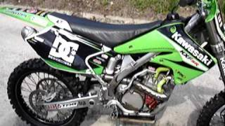 8. 2004 Kawasaki KX250F Pro Circuit