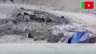 Baloch Genocide Continues: Zamuran Military Operation by Pakistan Army