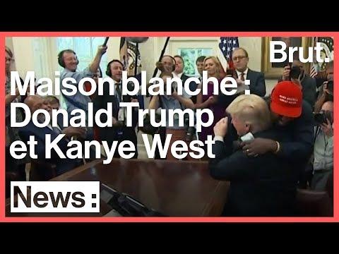 Kanye West et Donald Trump à la Maison Blanche