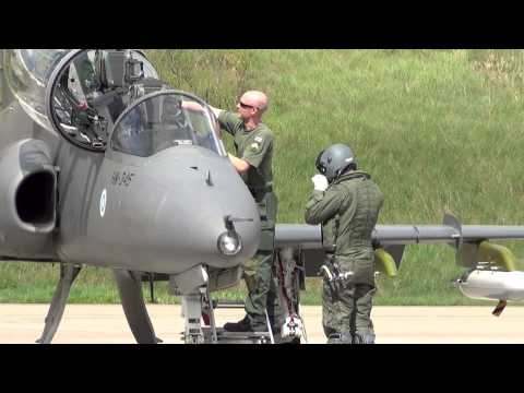 Hawk: Finnish air force  The BAE...