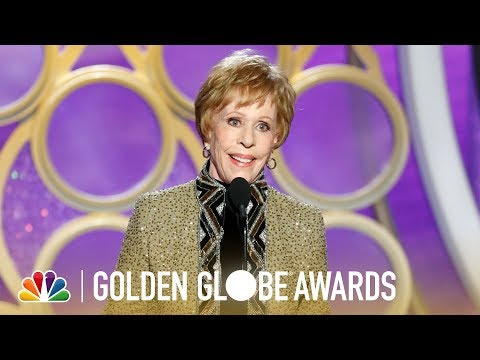 Carol Burnett Is Honored for Achievement in Television - 2019 Golden Globes (Highlight)
