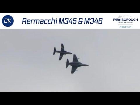 Here is the Alenia Aermacchi M345...