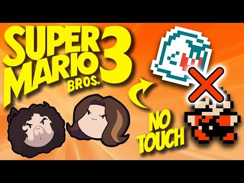 Mario 3: No Touch Challenge - PART 2 - Game Grumps (видео)