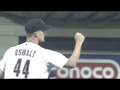 Video: Oswalt finishes his first complete game vs. Expos