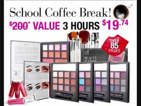 ELF Cosmetics - School Coffee Break - Open Box (видео)