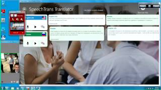 SpeechTrans for Windows Live Demo  at HPE Discover