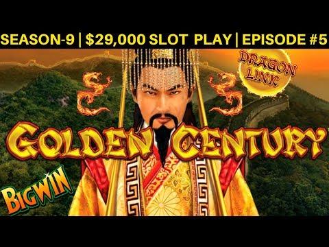 Dragon Link Slot Machine BACK TO BACK Bonus & BIG Win   Season 9   Episode #5
