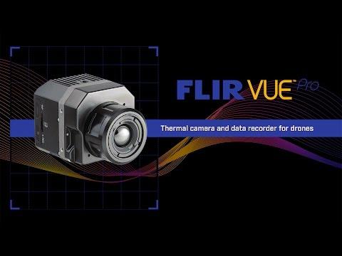 Трехосевой подвес Tarot с ИК-камерой FLIR Vue Pro 640