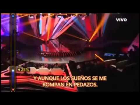 ELEGIDOS subtitulados- Resistiré por Diana Amarilla. #Elegidos