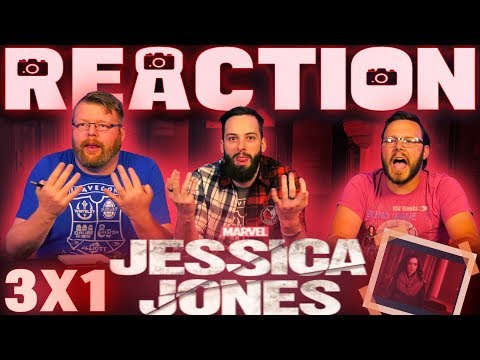 "Jessica Jones 3x1 REACTION!! ""AKA The Perfect Burger"""