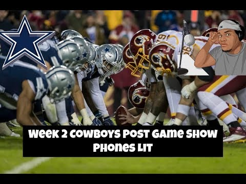 Dallas Cowboys @ Washington Redskins Post Game Show    Call in: 515-606-5187 Access Code 309104