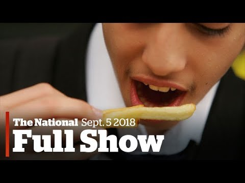 The National for Tuesday September 5th, School lunch time, more missile fears, Trump DACA