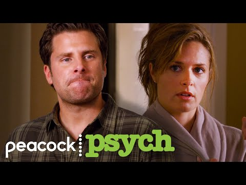 Shawn Can't Hide His Jealousy | Psych