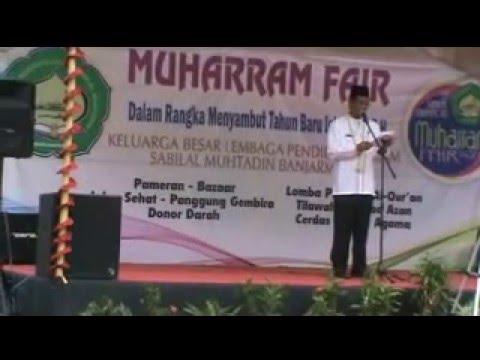 Sambutan Walikota Banjarmasin pada Muharram Fair 1437 Hijriah