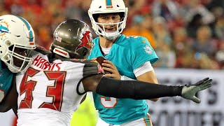 Why the Miami Dolphins started Josh Rosen against the Tampa Bay Buccaneers