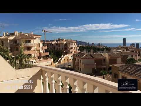 Ático de lujo en Benidorm, urbanización Sierra Cortina