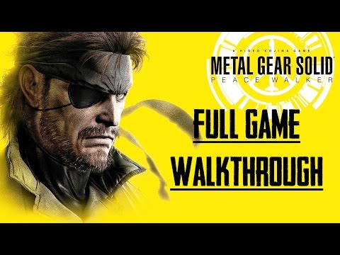 MGS: Peace Walker - Full Game Walkthrough - 0 Alerts - No Commentary