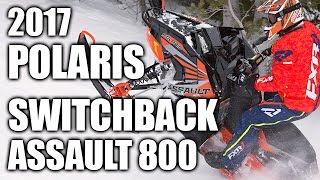 3. TEST RIDE: 2017 Polaris 800 Switchback Assault 144