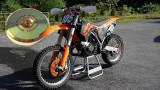 9. Steahly 12oz Flywheel Weight Install & Review (KTM 125 SX)