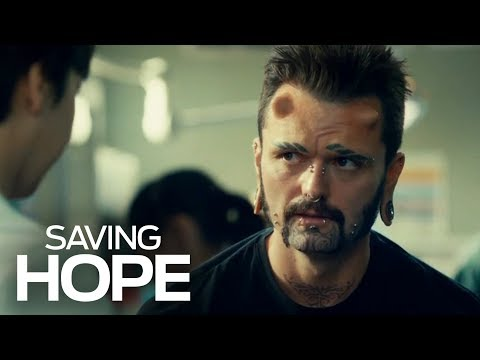 This Patient Didn't Want To Lose His Horns | Saving Hope