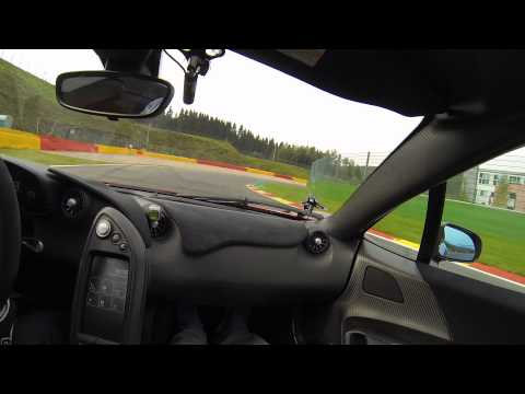 My ride in a McLaren P1 at Spa Francorchamps