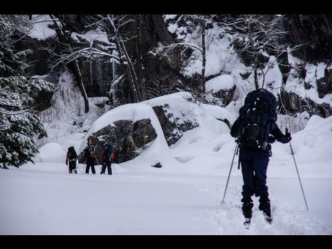 xc ski - Antics and adventure in the wintry Ontario wilderness. Shot with a Sony A55, 16-105mm lens, and a GoPro Hero2 HD. Music: Vase by Miike Snow.