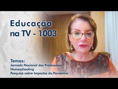 Jornada Nacional dos Professores | Homeschooling | Pesquisa sobre Impactos da Pandemia