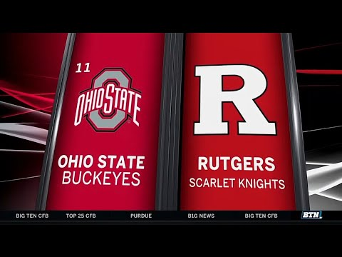 Ohio State at Rutgers - Football Highlights