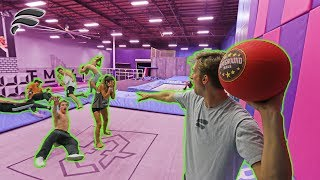 DODGEBALL AT SUPER TRAMPOLINE PARK!