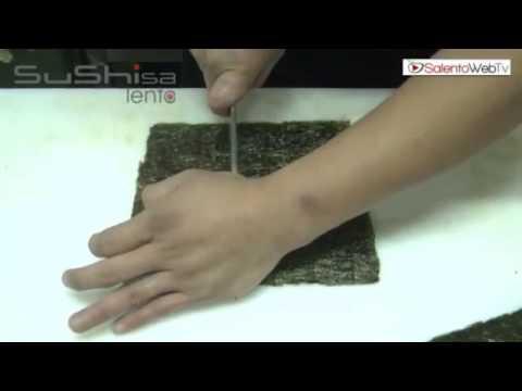 Sushisa Lento tutorial: sfilettatura, maki, uramaki e nigiri