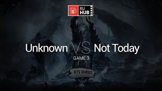 unknown.xiu vs NT, game 3