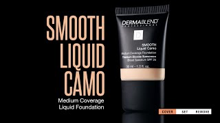How to Use Dermablend Smooth Liquid Camo