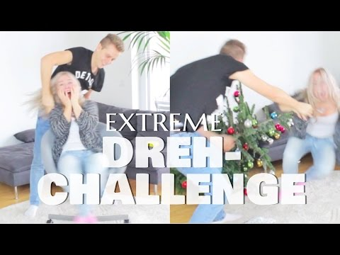 EXTREME DREH-CHALLENGE mit WOHNUNGS-ZERSTÖRUNG !