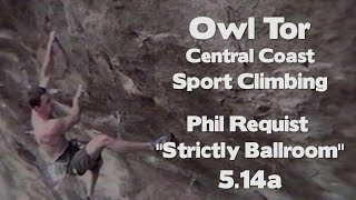 Above the Smogline | Owl Tor - Central Coast Sport Climbing | Phil Requist Strictly Ballroom 5.14a by Giant Rock