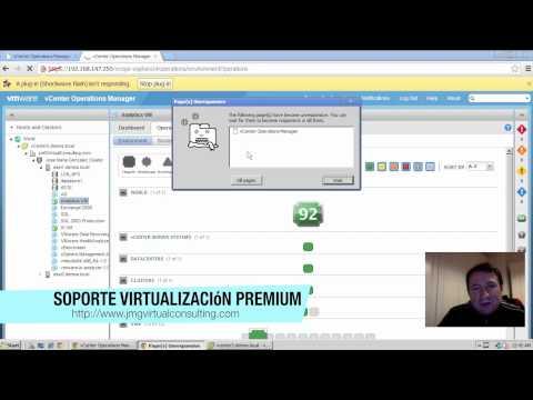 VMware vCenter Operation Manager: Instalación y Configuración Parte II
