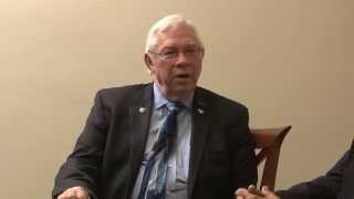 Prof. Orien Tulp President of USAT and Prof. George Einstein