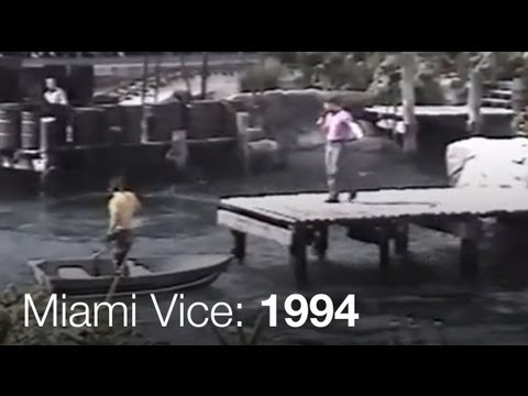 Miami Vice - Universal Studios Hollywood - 1994