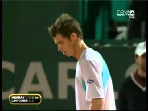 Andy Murray's Outburst at the Monte Carlo Open