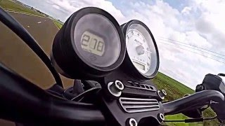 3. Harley Davidson XR1200 X  0- 235  Top speed