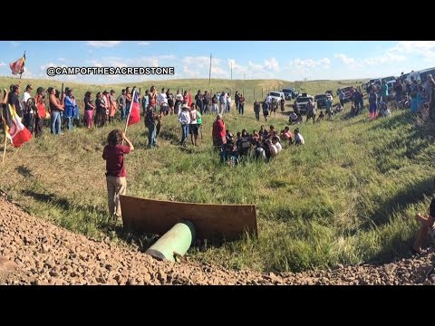 Standing Rock Sioux Tribe Protest the Dakota Access Pipeline