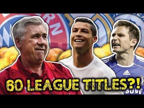 Video: Carlo Ancelotti's Greatest Ever XI   Pirlo, Ramos & Ronaldo!