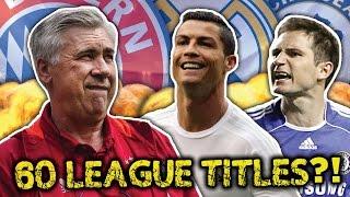 Carlo Ancelotti's Greatest Ever XI | Pirlo, Ramos & Ronaldo! by Football Daily