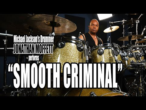 "Michael Jackson's Drummer Jonathan Moffett Performs ""Smooth Criminal"" Live On Drumeo!"