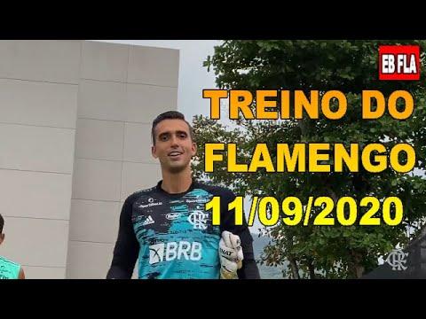TREINO DO FLAMENGO - 11/09/2020.