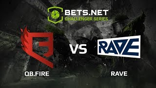 QB.Fire vs Rave, Bets.net Challanger Series
