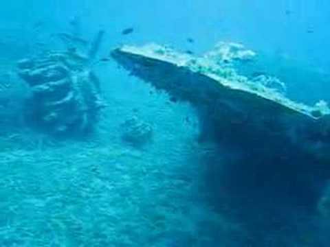 Epave Miomo Thunderbolt a 20m côtes de miomo haute corse