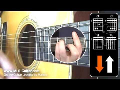 "Beginners Guitar Lessons : ""Reggae Rhythm 1"""